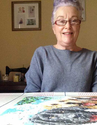 Moira and jigsaw