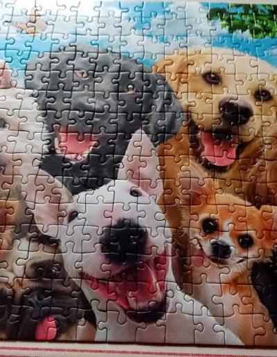 Moira's finished jigsaw