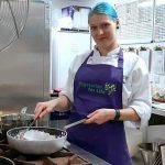 Justina Bajorinaite - cookery course chef