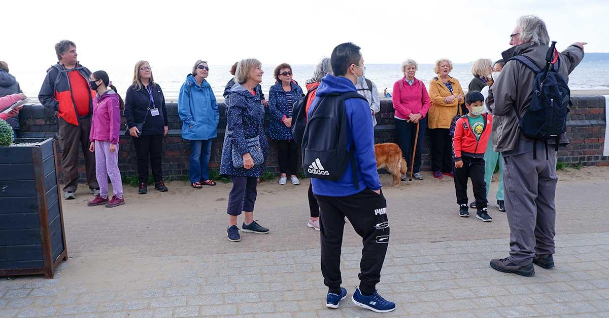 Walking to Success Swansea group